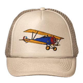 Biplano del vintage gorras de camionero