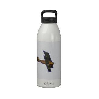 Biplano en la librea de Werner Voss Botellas De Agua Reutilizables