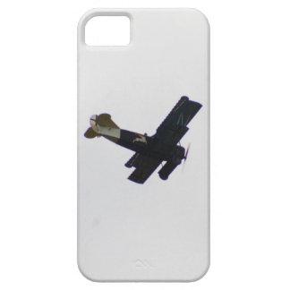 Biplano modelo en vuelo funda para iPhone SE/5/5s