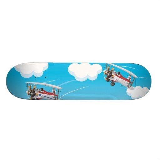 biplanos patines personalizados