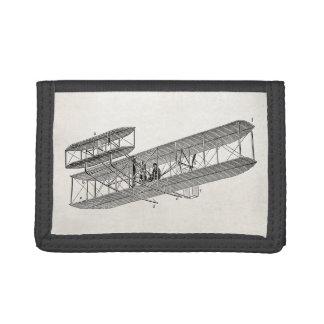 Biplanos viejos retros del avión del biplano del a