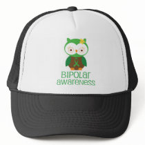 Bipolar Awareness Gift Idea Trucker Hat
