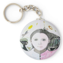 Bipolar Awareness Keychain