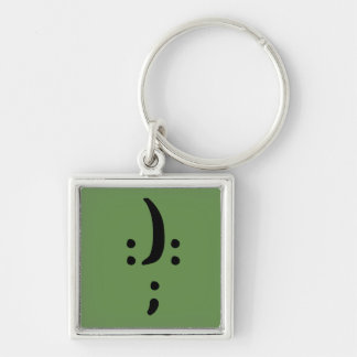 Bipolar Awareness Small Premium Square Keychain
