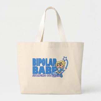 Bipolar Babe Canvas Bags