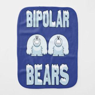 BIPOLAR BEARS BURP CLOTH
