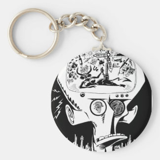 Bipolar Boulevardier Keychain