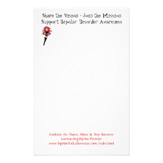 Bipolar Chick Note Pad Stationery
