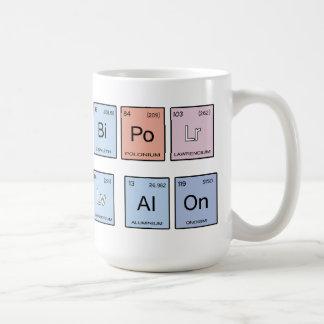 Bipolar dejar solo taza de café