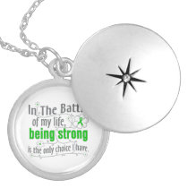 Bipolar Disease In The Battle Silver Plated Necklace
