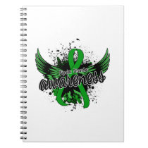 Bipolar Disorder Awareness 16 Spiral Notebook