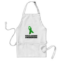 Bipolar Disorder Awareness Adult Apron