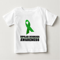 Bipolar Disorder Awareness Baby T-Shirt