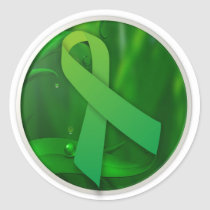 Bipolar Disorder Awareness Classic Round Sticker