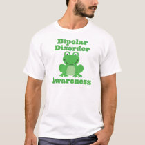 Bipolar Disorder Awareness Frog T-Shirt
