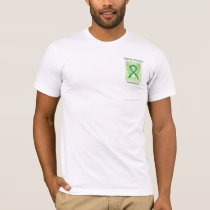 Bipolar Disorder Awareness Green Ribbon Angel Tee