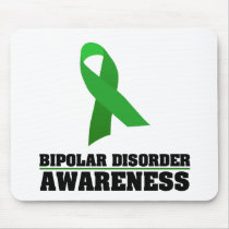 Bipolar Disorder Awareness Mouse Pad