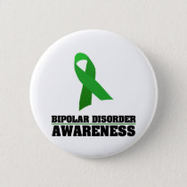 Bipolar Disorder Awareness Pinback Button