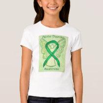 Bipolar Disorder Awareness Ribbon Angel Shirt