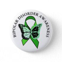 Bipolar Disorder Awareness Ribbon Button