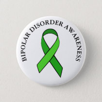 Bipolar Disorder Awareness Ribbon Button