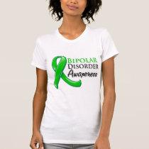 Bipolar Disorder Awareness Ribbon Tee Shirt