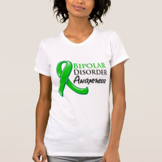 Bipolar Disorder Awareness Ribbon Tshirt