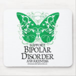 Bipolar Disorder Butterfly Mouse Pad