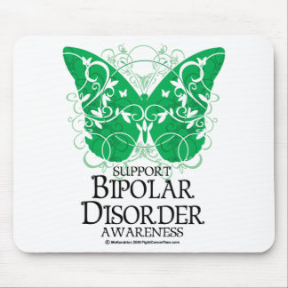 Bipolar Disorder Butterfly Mousepads