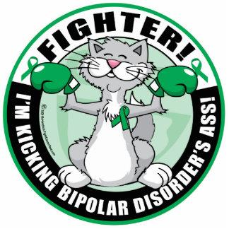 Bipolar Disorder Cat Fighter Cutout