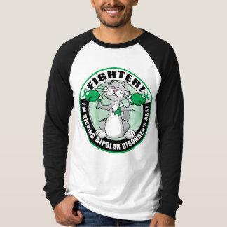 Bipolar Disorder Cat Fighter T Shirt
