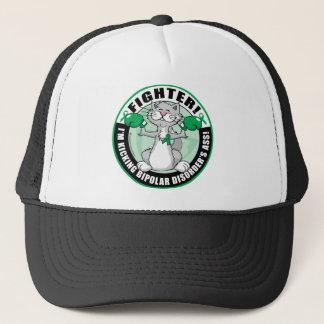 Bipolar Disorder Cat Fighter Trucker Hat