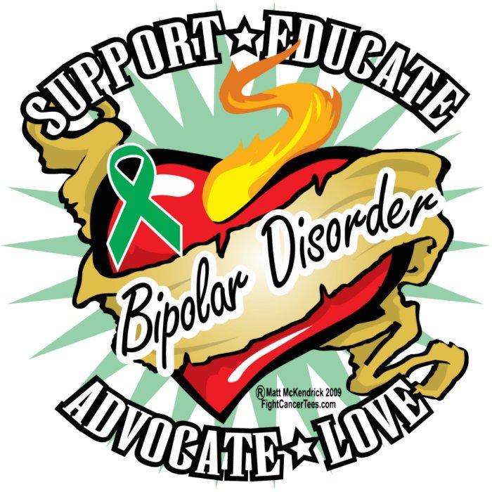 Bipolar Disorder Classic Heart Statuette
