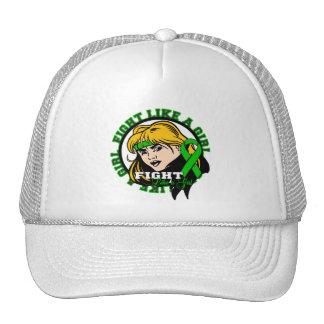Bipolar Disorder Fight Like A Girl Attitude Mesh Hat
