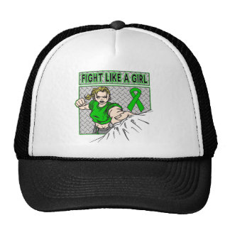 Bipolar Disorder Fight Like A Girl Punch Mesh Hat