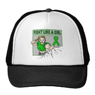 Bipolar Disorder Fight Like A Girl Punch Mesh Hats