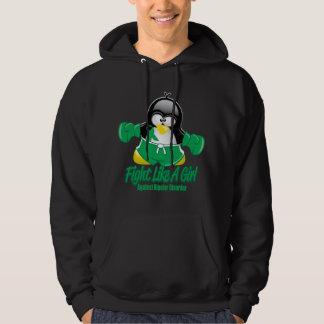 Bipolar Disorder Fighting Penguin Pullover