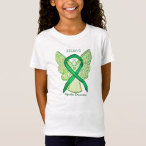 Bipolar Disorder Green Awareness Ribbon Shirt