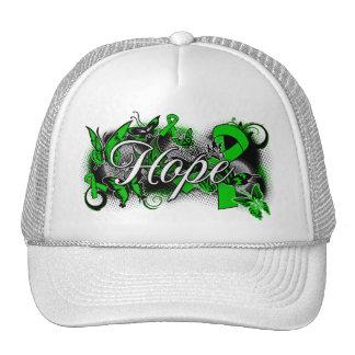 Bipolar Disorder Hope Garden Ribbon Hat
