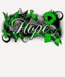 Bipolar Disorder Hope Garden Ribbon Shirts