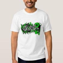 Bipolar Disorder Hope Garden Ribbon T-shirt