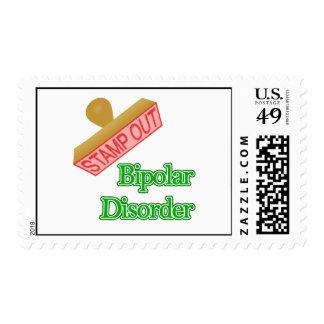 Bipolar Disorder Postage Stamp
