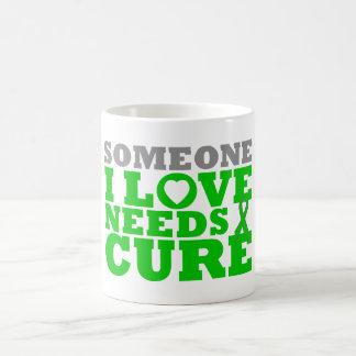 Bipolar Disorder Someone I Love Needs A Cure Classic White Coffee Mug