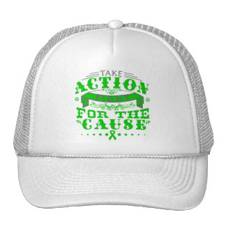 Bipolar Disorder Take Action Fight For The Cause Trucker Hat