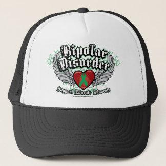 Bipolar Disorder Wings Trucker Hat