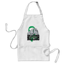 Bipolar Fighting Bulldog Adult Apron