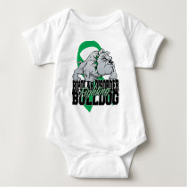 Bipolar Fighting Bulldog Baby Bodysuit