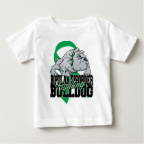 Bipolar Fighting Bulldog Baby T-Shirt