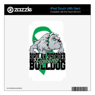 Bipolar Fighting Bulldog Decal For iPod Touch 4G