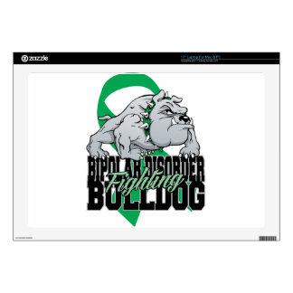 Bipolar Fighting Bulldog Skin For Laptop